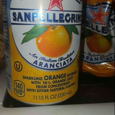 Sanpellegrino All Natural Aranciata Italian Sparkling Orange Beverage - 6 CT uploaded by Latezia F.