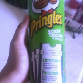 Pringles Potato Crisps Sour Cream & Onion uploaded by Juliene V.