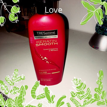 TRESemmé Keratin Smooth Heat Protection Shine Spray uploaded by Olivia N.