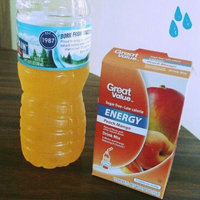 Great Value Peach Mango Energy Drink Mix, .88 oz, 10ct uploaded by Shannon F.