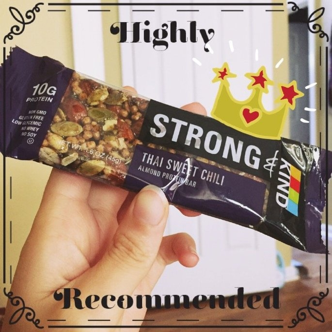 KIND STRONG Thai Sweet Chili Almond Protein Bar uploaded by Amber H.