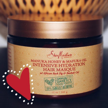 SheaMoisture Manuka Honey & Mafura Oil Intensive Hydration Hair Masque uploaded by Brandy C.