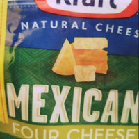 Kraft Natural Cheese Shredded Mexican Style Four Cheese Blend 8 oz. ZIP-PAK® uploaded by Amy H.