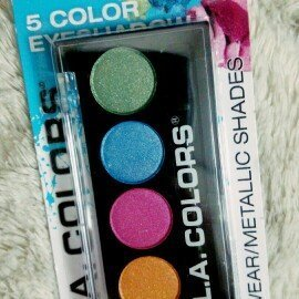 L.A. Colors 5 Color Metallic Eyeshadow, Tease, .26 oz uploaded by gabriela s.