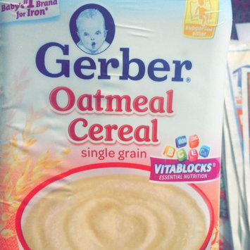 Photo of Gerber® Oatmeal Cereal 8 oz. Canister uploaded by Lynda J.
