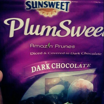 Photo of Sunsweet PlumSweets Amazins Diced Dried Plums Dipped in Decadent Dark Chocolate uploaded by Jennifer N Ronnie F.