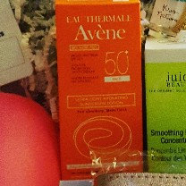 Photo of Avène Hydrating Sunscreen Lotion SPF 50+ (Face & Body) uploaded by Krista F.