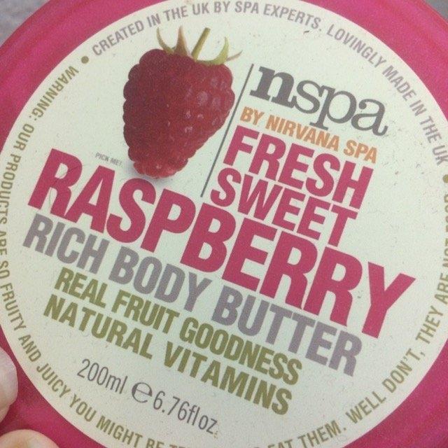 NSPA Fresh Sweet Raspberry Rich Body Butter, 6.76 fl oz uploaded by Alex D.