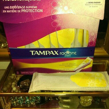 Photo of Tampax Radiant Regular uploaded by Sarah M.