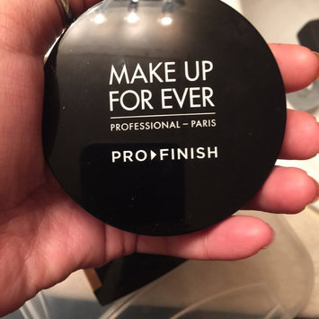 Photo of MAKE UP FOR EVER Pro Finish Multi-Use Powder Foundation uploaded by Brie F.