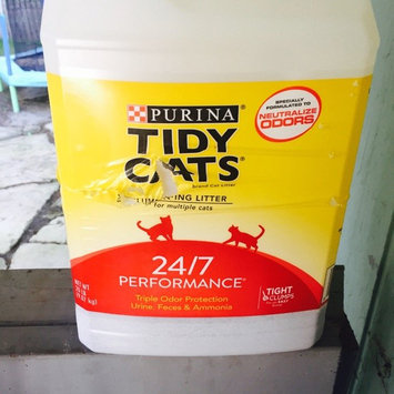 Photo of Purina Tidy Cats Tidy Cats LightWeight 24/7 Performance Scoop Litter Jug - 8.5lb uploaded by Jahara C.
