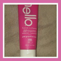 Hello Pink Grapefruit Mint Fluoride Toothpaste uploaded by Megan N.