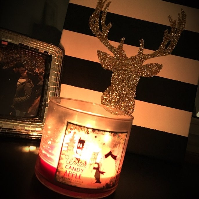 Bath & Body Works 1 X Bath and Body Works Winter Candy Apple 3 Wick Scented Candle 14.5 Oz. 2014 Edition uploaded by Aneisa A.