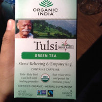 Organic India Tulsi Tea Green Tea 18 Tea Bags Case of 6 uploaded by Alicia R.