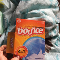 Bounce Dryer Sheets Fresh Linen Scent uploaded by Dallas J.