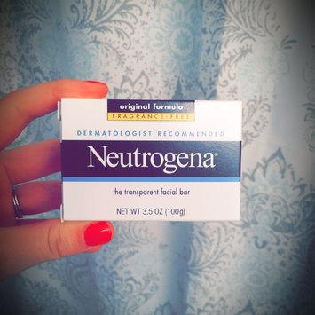 Photo of Neutrogena® Fragrance Free Facial Cleansing Bar uploaded by Lauren V.
