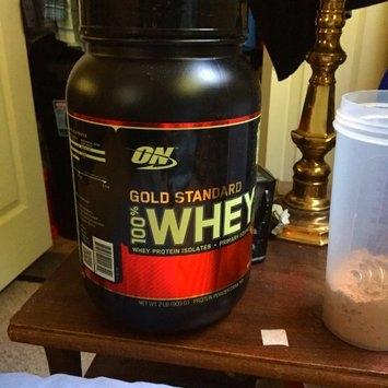 Optimum Nutrition Gold Standard Natural 100% Whey Protein uploaded by Eugene V.