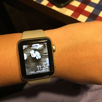 Apple Watch Series 2 Silver Aluminum Case with White Sport Band uploaded by Antheia N.