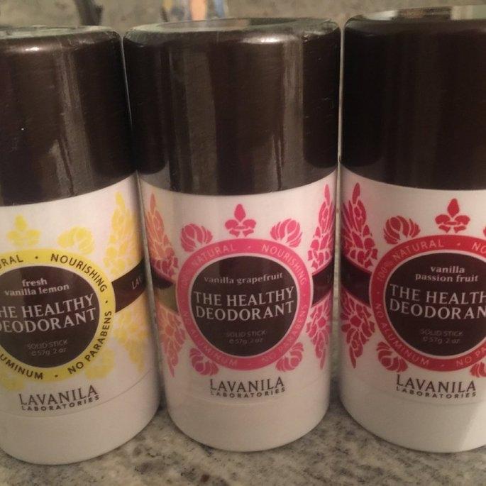 LAVANILA The Healthy Deodorant Fresh Vanilla Lemon 2 oz uploaded by Christin S.