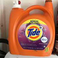 Procter & Gamble Tide Plus Febreze Sport Active Fresh Liquid Laundry Detergent - 138 oz, Febreze Spring uploaded by Christina J.