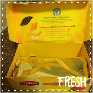Lipton® Serve Hot or Iced Tea Bags uploaded by Vanessa R.