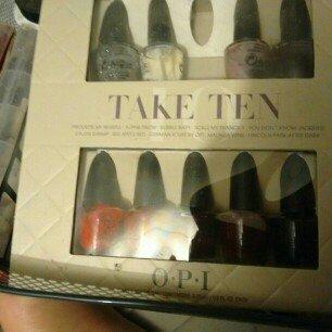 OPI Mini Nail Lacquer Trend On Ten Kit uploaded by Geneva A.