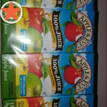 Apple & Eve® Apple/Very Berry/Fruit Punch 100% Juice Variety Pack 32-6.75 fl. oz. Aseptic Packs uploaded by Rayna C.