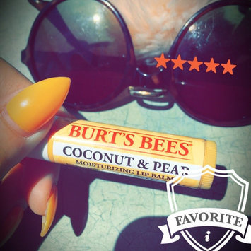 Photo of Burt's Bees Coconut & Pear Lip Balm uploaded by Kat W.