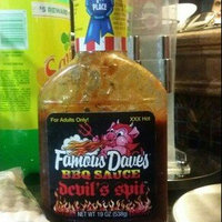 Famous Dave's Devil Spit Barbeque Sauce 19 oz uploaded by Yessi T.