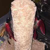 You & Me Cat Scratch Post with Feather Toys uploaded by Cristina A.