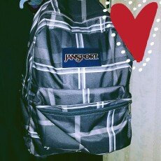 Photo of JanSport SuperBreak Backpack Blue Topaz Oh Bananas - JanSport School & Day Hiking Backpacks uploaded by Amber W.