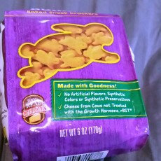 Annie's Homegrown® Organic Cheddar Bunnies® Baked Snack Crackers uploaded by amber n.