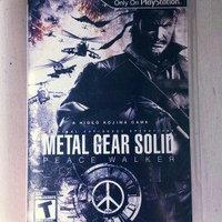 PSP - Metal Gear Solid: Peace Walker- By Konami uploaded by Ambar C.