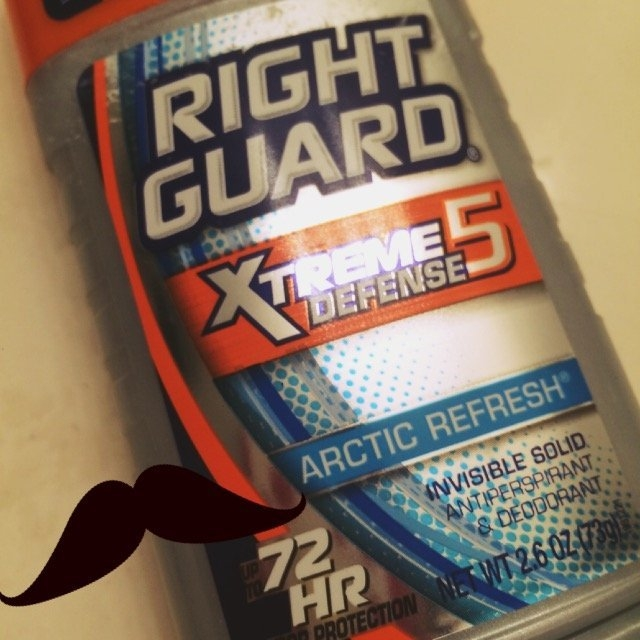 Right Guard Total Defense 5 Antiperspirant & Deodorant Solid Arctic Refresh uploaded by Katie S.