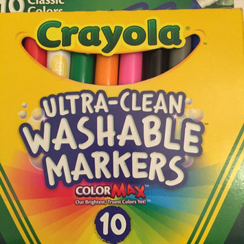 Photo of Crayola 10 Ct Ultraclean Broadline Classic uploaded by Katrina N.