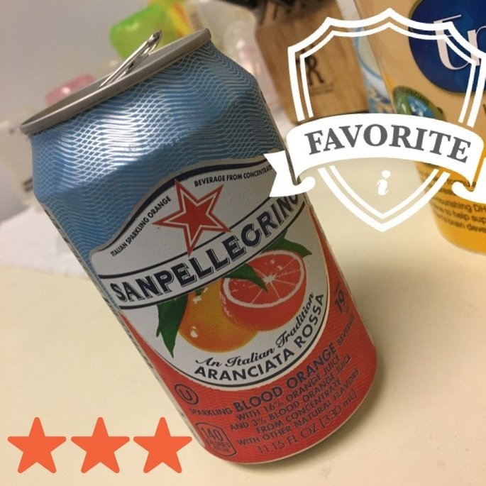 Sanpellegrino Aranciata Rossa Sparkling Orange Beverage 11.15 fl. oz. Can uploaded by Kyrstyna G.