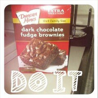 Duncan Hines Extra Thick & Fudgy Brownie Mix Dark Chocolate Family Size uploaded by Lisa L.