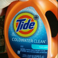 Tide Plus Coldwater Clean Liquid Laundry Detergent uploaded by Christa M.