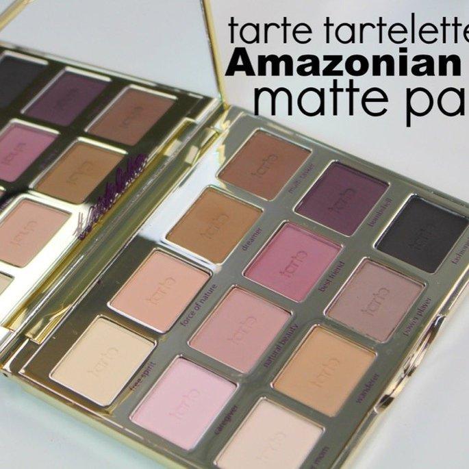 tarte Tartelette Amazonian Clay Matte Eyeshadow Palette uploaded by Charlotte T.