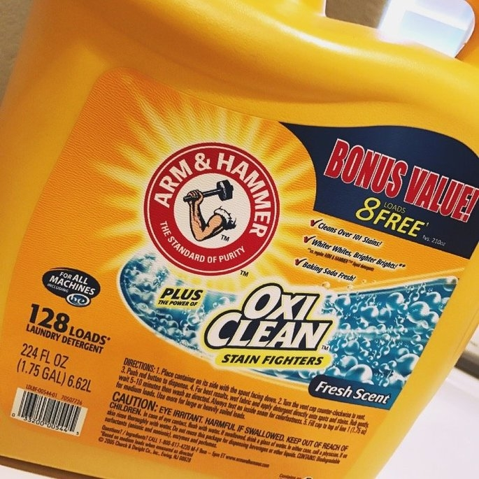Arm & Hammer™ Plus OxiClean™ Stain Fighters Fresh Scent Laundry Detergent 224 fl. oz. Jug uploaded by A G.