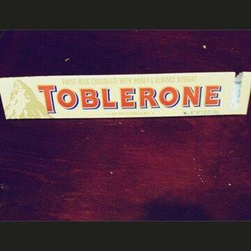 Toblerone Swiss Milk Chocolate uploaded by Ashley C.