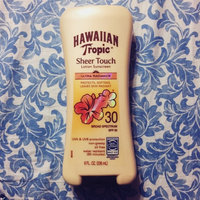 Hawaiian Tropic Sheer Touch Oil-Free Sunscreen uploaded by member-bc7455ae9