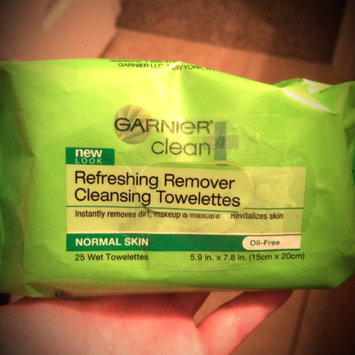 Photo of Garnier SkinActive Clean+ Refreshing Remover Cleansing Towelettes uploaded by Jamie B.