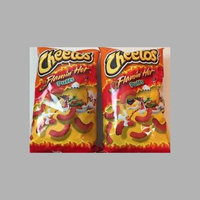 Cheetos® Flamin' Hot Puffs FLAMIN'  Cheese Flavored Snacks uploaded by Melonye L.