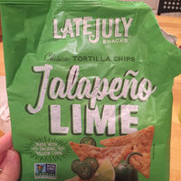 Late July Snacks Clasico Tortilla Chips Jalapeno Lime 5.5 oz - Vegan uploaded by Anna T.