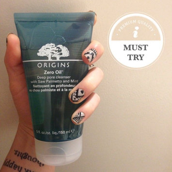 Photo of Origins Zero Oil Deep Pore Cleanser with Saw Palmetto & Mint uploaded by Christina R.