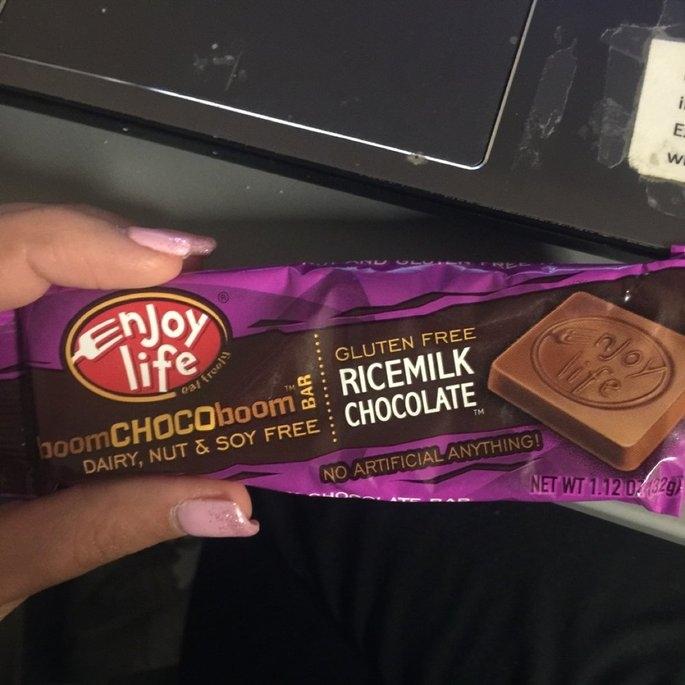 Enjoy Life Ricemilk Chocolate Boom Choco Boom Bar uploaded by Alexis O.