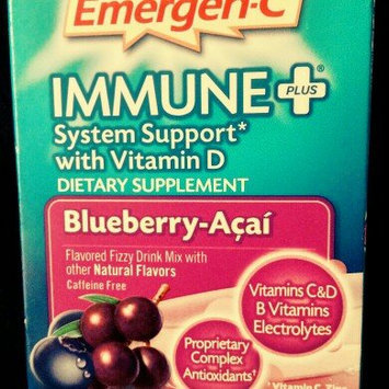 Photo of Emergen-C Immune+ System Support* with Vitamin D Blueberry-Acai uploaded by Ashley R.