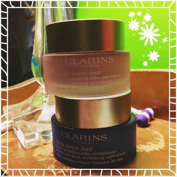 NEW Clarins Multi-Active Day & Night Creams uploaded by Kelsey S.