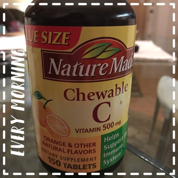 Nature Made C Vitamin 500mg Chewable Tablets - 150 CT uploaded by Chelsey M.